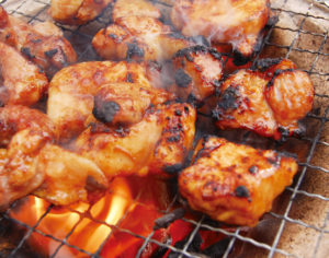 松坂鶏焼き肉